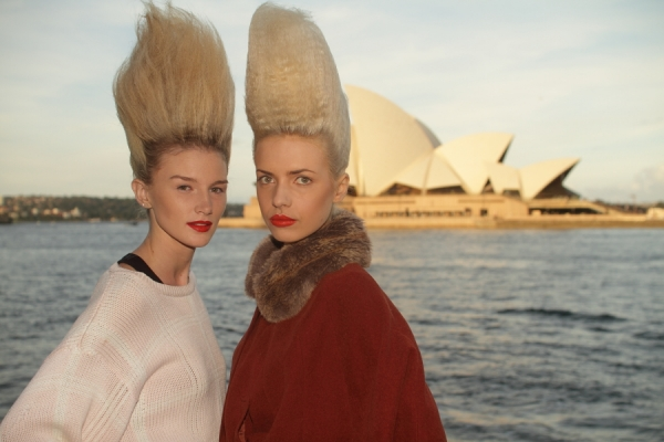 IMG_6594.JPG Backstage Bowie S/S 2011/12 Rosemount Australian Fashion Week Photo by Reef Gaha Hair by MoroccanOil