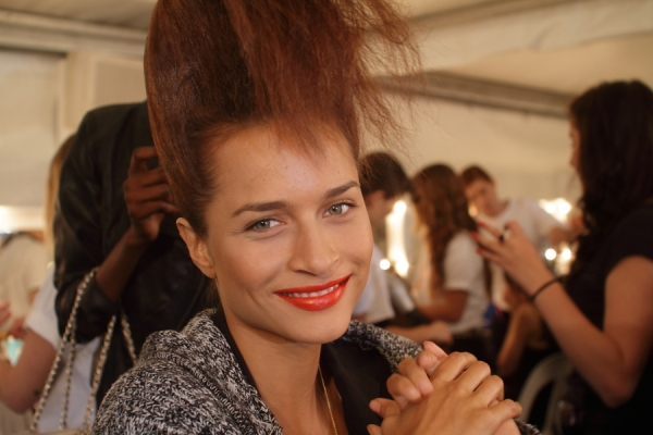 IMG_6613.JPG Backstage Bowie S/S 2011/12 Rosemount Australian Fashion Week Photo by Reef Gaha Hair by MoroccanOil