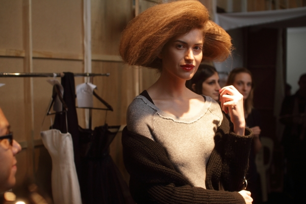 IMG_6661.JPG Backstage Bowie S/S 2011/12 Rosemount Australian Fashion Week Photo by Reef Gaha Hair by MoroccanOil