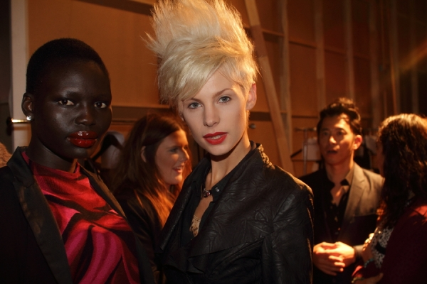 IMG_6697.JPG Backstage Bowie S/S 2011/12 Rosemount Australian Fashion Week Photo by Reef Gaha Hair by MoroccanOil