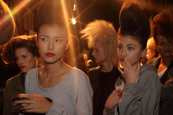IMG_6710.JPG Backstage Bowie S/S 2011/12 Rosemount Australian Fashion Week Photo by Reef Gaha Hair by MoroccanOil