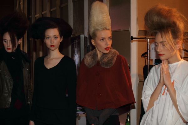 IMG_6719.JPG Backstage Bowie S/S 2011/12 Rosemount Australian Fashion Week Photo by Reef Gaha Hair by MoroccanOil