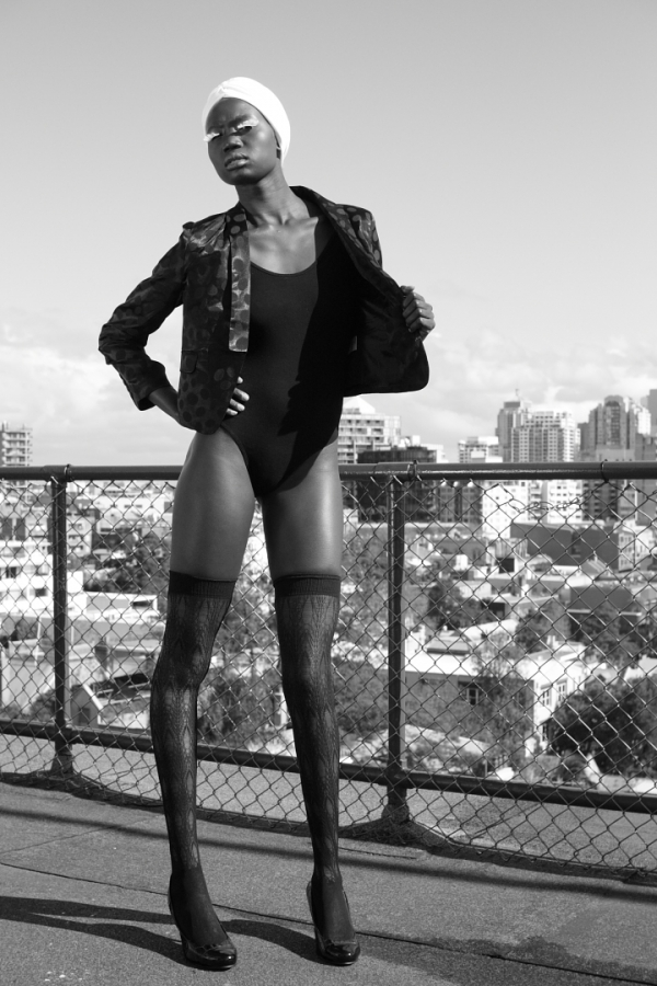 Adhilel Malual Photo by Reef Gaha Innerstyle Fashion Photo Sydney